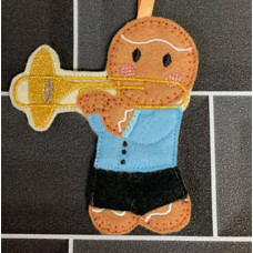 Ginger Trombone Player