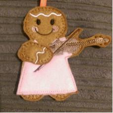 Ginger Violinist Lady