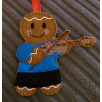 Ginger Violinist Man