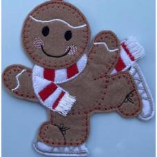 Ginger Winter Ice Skater