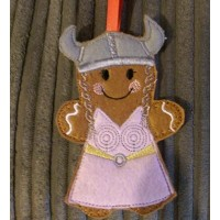 Gingerbread Viking Princess