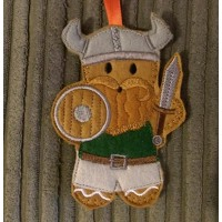 Gingerbread Viking