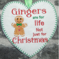 Gingers are for life heart