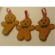 Bitten Gingerbread Men