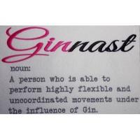 Ginnast Word Art