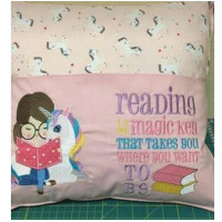 Reading Girl and Unicorn Set