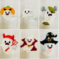 Halloween Spooky Ghosts
