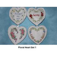 Floral Heart Set 1