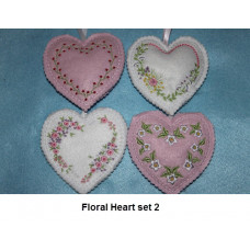 Floral Heart Set 2