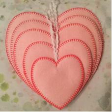 Heart Hangers