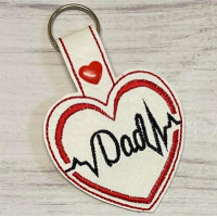 Heartbeat Dad Key Tab