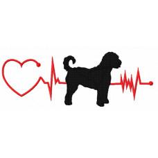 Heartbeat Dog - Aussie Doodle