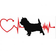 Heartbeat Dog - Cairn Terrier