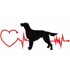 Heartbeat Dog -  Irish Setter