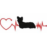 Heartbeat Dog - Skye Terrier