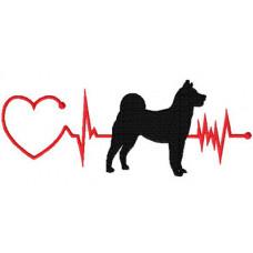 Heartbeat Dog – Akita