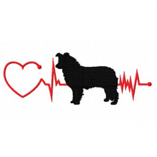 Heartbeat Dog - Border Collie