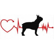 Heartbeat Dog – Boston Terrier