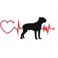 Heartbeat Dog - Cane Corso