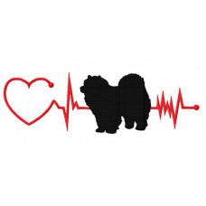 Heartbeat Dog - Chow Chow