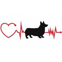 Heartbeat Dog - Corgi