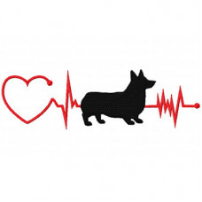 Heartbeat Dog - Corgi