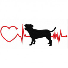 Heartbeat Dog - Jack Russell