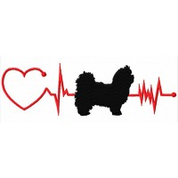 Heartbeat Dog – Maltese