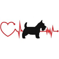 Heartbeat Dog – Scottie