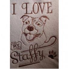 I love my Staffy
