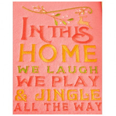 In This Home - Christmas Wordart