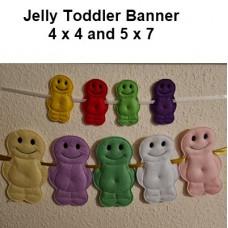 Jelly Toddler Banner