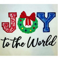 Joy Applique Design