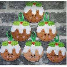 Kawaii Christmas Puddings