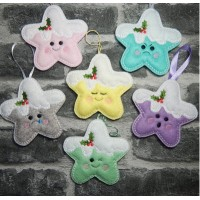 Kawaii Christmas Stars