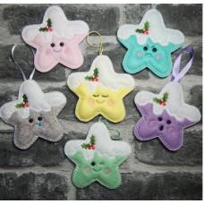 Kawaii Christmas Stars