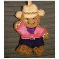 Lady Line Dancing Cowboy Ginger