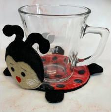 Ladybug Mug Coaster
