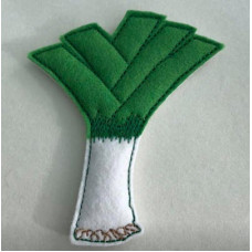 Leek Brooch Pin