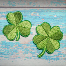 Lucky Clover Brooch Pin