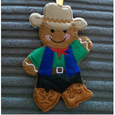 Man Line Dancing Cowboy Ginger