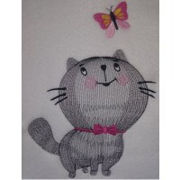 Meow and Butterfly