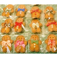 Mini Ginger Brooches