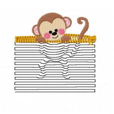 Monkey 3D Illusion Pocket