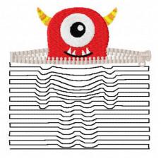 Monster 3D Illusion Pocket
