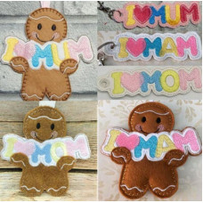 MUM MAM MOM Gingers and Key Tabs Set