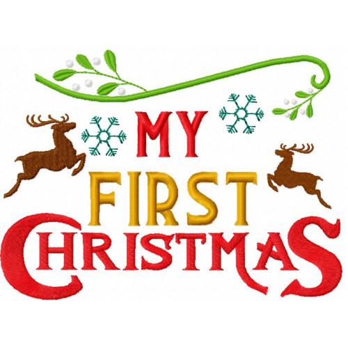 My First Christmas.My First Christmas Christmas Wordart