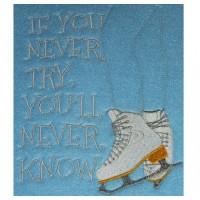 Never Try - Ice Skates