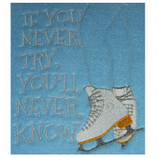 Never Try - Ice Skates