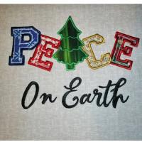 Peace Applique Design